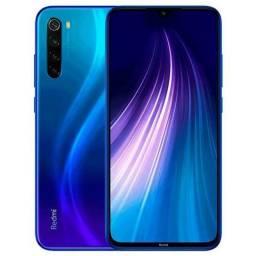 <br>Smartphone Xiaomi Redmi Note 8 Dual Chip 64GB (Neptune Blue) Azul