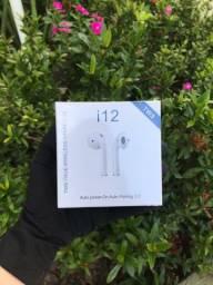Fone bluetooth I12s TWS