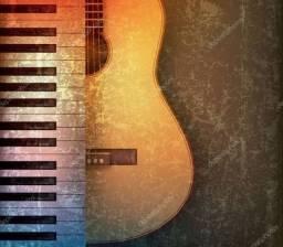 Aulas de Teclado e Piano, Violão Popular e Clássico, Canto e Musicalização Infantil