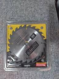 Disco de Serra Circular Vídea para Madeira 110mm x20mm - Thompson<br><br>