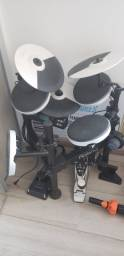 Bateria Eletronica Roland TD-4KP + Pedal Pearl