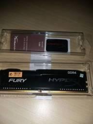 Memória RAM Kingston DDR4 8GB 2133Mhz