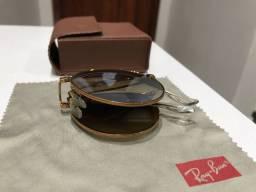 Óculos Rayban Round Dobrável