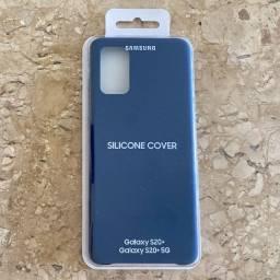 Capa de Silicone Galaxy S20+ Azul Marinho (Original Lacrada)