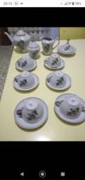 Jogo de chá antigo pozanni