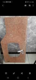 Base em marmore  para pia de banheiro