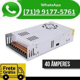 Fonte Chaveada Estabilizada 5v 40a 200w 110v / 220v (NOVO)