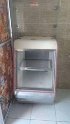 Expositor quente e gelado