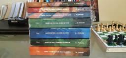 Coleção completa Harry Potter.