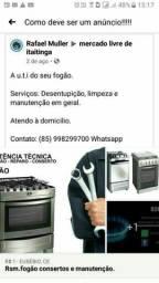 Consertos de fogão
