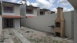 Duplex novo, 2 quartos, 2 wc's, varanda, churrasqueira, até 4 vagas de garagem