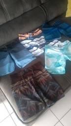 Bermudas moda praia