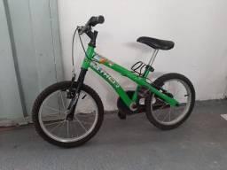 Bicicleta Aro 16. Passo cartão