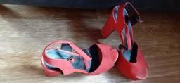 Sapato alto arezzo tamanho 36