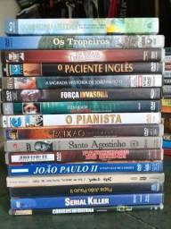 Pacote dvds variados originais