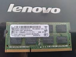 Memória  do Notebook Lenovo G485 - 4 Gigas
