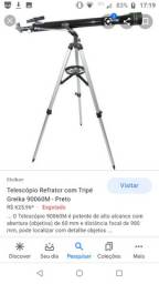 Telescópio greika vendo ou troco por iphone mais volta