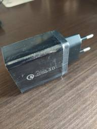 Carregador Quick Charge 3.0 4 portas USB novo