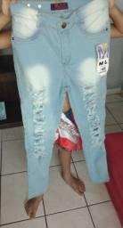 Calça jeans número 42 nova