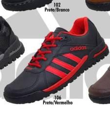Tênis Adidas Preto e Vermelho