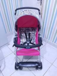 Carrinho de bebê Rosa Burigotto (NOVO MODELO)