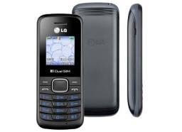 Celular LG b220 dois chips, rádio, desbloqueado, novo