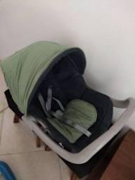 Bebê conforto e canguru