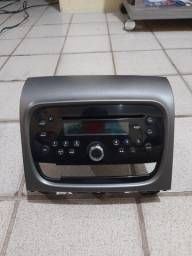 Troco rádio original fiat em Pioneer com bluetooth e pendrive