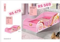 Mini cama carro