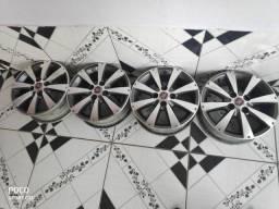 Jogo de roda + pneus