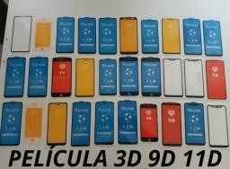 Película 3D 9D 11D (Entrega Domiciliar Grátis)