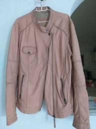 Jaqueta de couro ecológico lindíssima