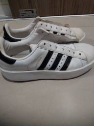 Adidas plataforma superstar Original