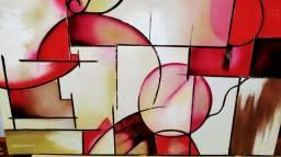 Vendo quadro pintado em tela com tinta óleo por excelente artista plástica