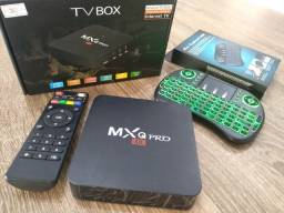 Smart Tv Box + Tecladoled 32gb 4gb Ram Android 10.1