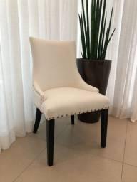 Cadeira de jantar Lisse - Off-White