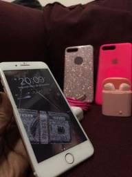 IPhone 7 plus 128 gigas comoleto com ipodes