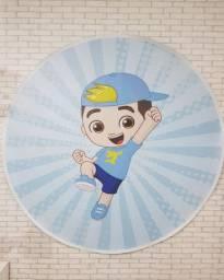 Bonecos de feltro  Lucas neto + painel redondo 1,50x1,50