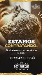 Contrato barbeiro com experiência
