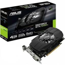 Placa de Vídeo Asus GeForce GTX 1050 TI 4GB GTX1050 TI-4G <br><br>