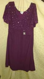 Vestido Plus Size 54
