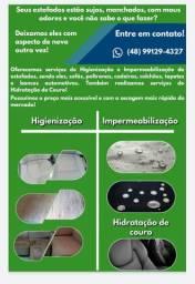 Impermeabilização e higienização