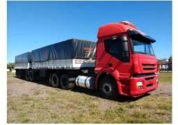 Conjunto Caminhão Iveco Stralis Hd 420 E Bitrem Randon<br><br>