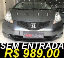 Honda Fit Lx 1.4 Flex 2011 Automático Ùnico Dono