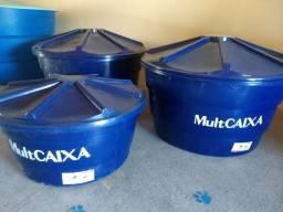 Caixas novas de 500 litros e 1000 litros