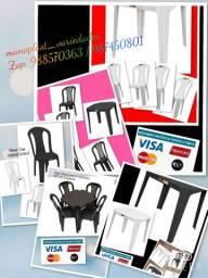 Mesas e Cadeiras Bistrô