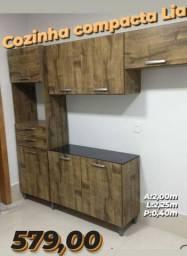 Armário de cozinha compacta completo (entrego e monto grátis)
