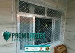 Tela de proteção para janelas