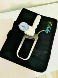 Adipometro científico da Avanutri em aço inox + fita métrica. NOVO!!!