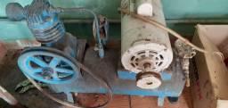 Compressor com motor